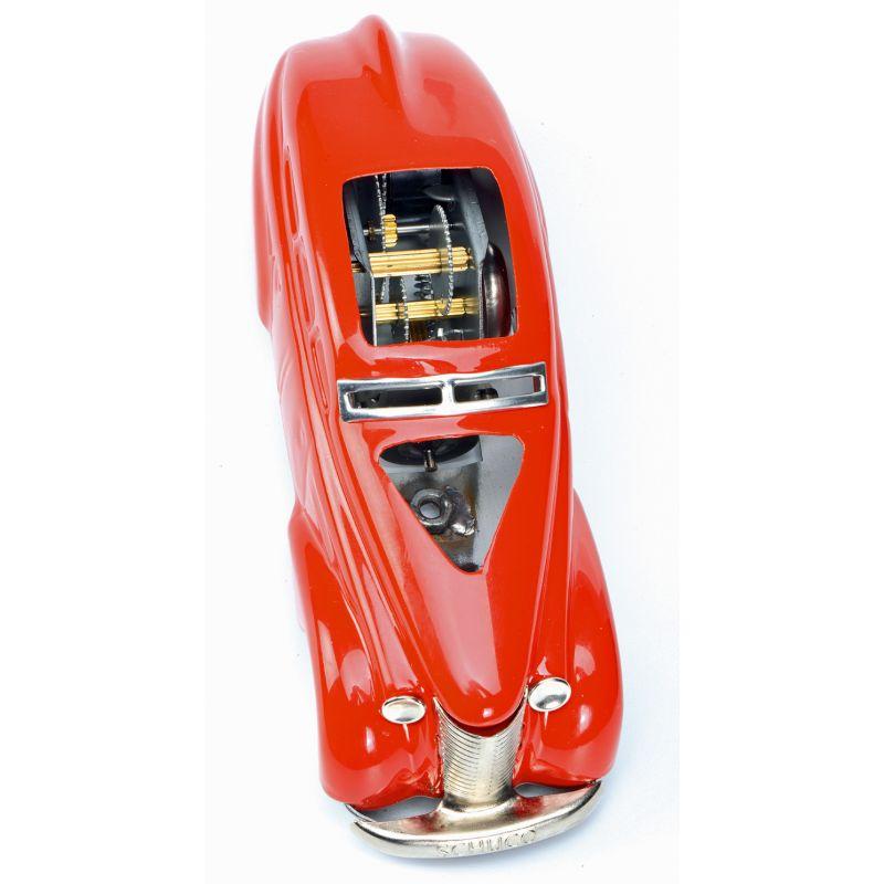 Schuco Wendeauto 1010 Schnittmodell rot Blechspielzeug