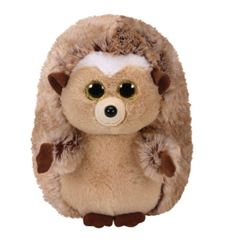 Hedgehog farcito Beanies peluche Glubschi 15cm Brown Ty 42274 Ida qj5ARcL34