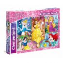 20140 Clementoni Brilliant Puzzle Disney Princess 104 Teile