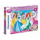 20077 Clementoni Jewels Puzzle Disney Princess 104 Teile