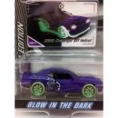 Dodge Challenger SRT Hellcat Majorette 1:64 Limited Edition 4 Glow in the Dark