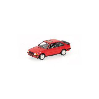 400085071 MINICHAMPS 1:43 FORD ESCORT III XR3I - 1982 - RED