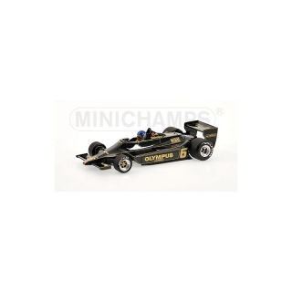 100780006 MINICHAMPS 1.18 LOTUS FORD 79  RONNIE PETERSON 1978