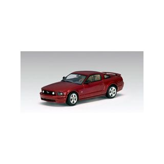 52762 AUTOART 1:43 FORD MUSTANG GT 2005  2004 AUTO SHOW VERSIO RED FIRE