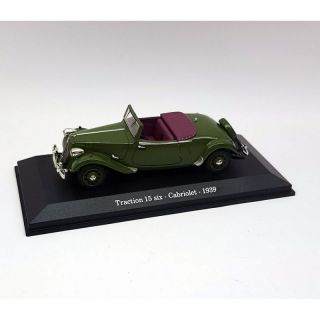 153121 Norev 1:43 Citroën Traction 15 six Cabriolet 1939
