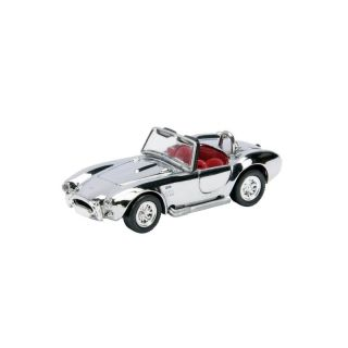 25859 SCHUCO 1:87 Shelby AC Cobra chrom