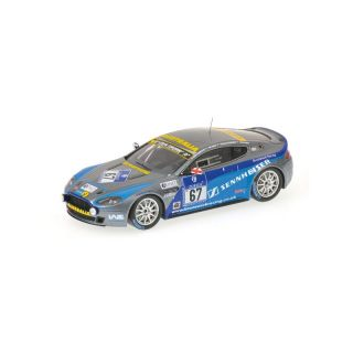437101367 Minichamps 1:43 Aston Martin V8 N24 GRIFFITH SHAW BORNESS RUBIS Nürburgring 2010