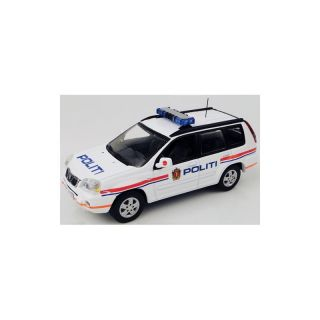 JC089 Jcollection 1:43 NISSAN X-Trail Norway Police 20006