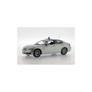 JC116 Jcollection 1:43 INFINITI G37 Sedan 2007 Honolulu Police Silver