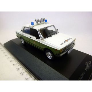CCC060 IXO 1:43 LADA 1200 2107  Sedan VP Volkspolizei