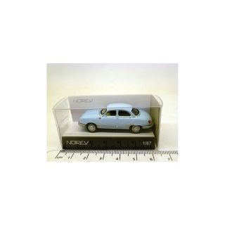 451895 Norev 1:87 Panhard Dyna Z12 1957 light blue